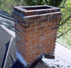 Chimney Repair - Before